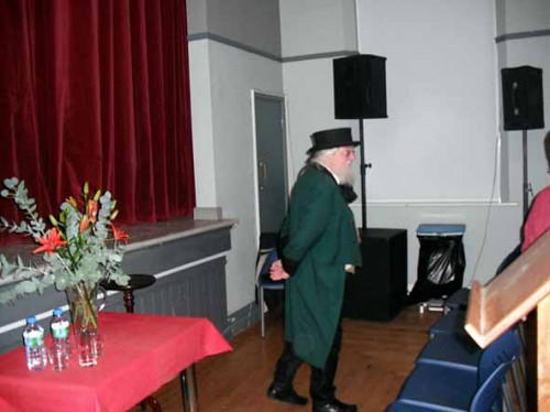 Clifford Winser, Youghal Town Crier at start of proceedings
